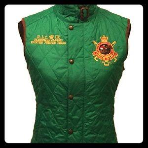 Ralph Lauren vest, green